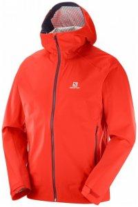 Salomon - La Cote Stretch 2.5L Jacket - Hardshelljacke Gr S rot