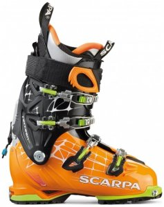 Scarpa - Freedom RS - Freerideskischuhe Gr 265 schwarz/orange/grau