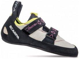 Scarpa Velocity Women lightgray/royal blue 2015 40 grau Outdoorausrüstung Klettern Kletterschuhe 40