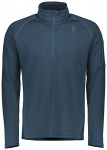 Scott - Pullover Defined Light - Fleecepullover Gr S blau