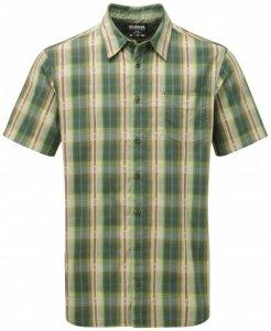 Sherpa - Seti S/S Shirt - Hemd Gr M oliv/grau/beige