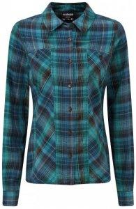 Sherpa - Women's Yamuna Shirt - Bluse Gr XS schwarz/türkis/blau