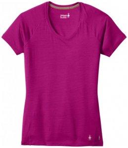 Smartwool - Women's Merino 150 Baselayer Pattern S/S Gr L;M;S;XL;XS rosa;grau/blau;rot/rosa