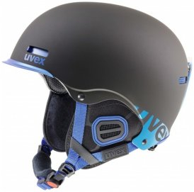 uvex HLMT 5 Core Helmet black / cobalt mat / schwarz Gr. 55/59