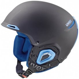 Uvex - Jakk+ Octo+ - Skihelm Gr 52-55 cm schwarz/grau/blau