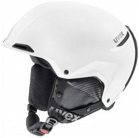 Uvex - Jakk+ - Skihelm Gr 55-59 cm weiß/grau/schwarz