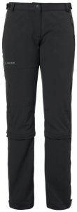 Vaude - Women's Farley Stretch Capri T-Zip II - Trekkinghose Gr 38 - Regular schwarz