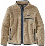 Patagonia - Girl's Retro Pile Jacket - Fleecejacke Gr L;M;S;XL;XS beige/braun/gr