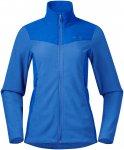 Bergans Damen Finnsnes Fleece Jacke (Größe M, Blau)