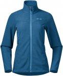 Bergans Damen Finnsnes Fleece Jacke (Größe L, Blau)