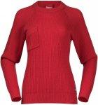 Bergans Damen Stavali Pullover (Größe M, Rot)
