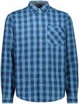 CMP Herren Brushed Flannel Hemd (Größe 4XL, Blau)