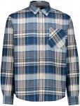 CMP Herren Brushed Flannel Hemd (Größe 3XL, Blau)