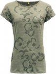 Devold Damen Fagerlia T-Shirt (Größe M, Grün)