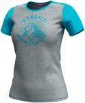 Dynafit Damen Transalper Light T-Shirt (Größe L, Türkis)