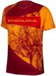 Endura Kinder MT500 Radtrikot (Größe 128, 122, Orange)