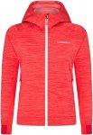 La Sportiva Damen Aim Hooded Jacke (Größe L, Rot)