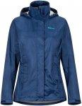 Marmot Damen Precip Eco Jacke (Größe XS, Blau)