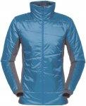 Norrona Damen Falketind PrimaLoft60 Jacke (Größe M, Blau) | Isolationsjacken >