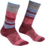 Ortovox Damen All Mountain Mid Warm Socken (Größe 36, 35, 37, 38, Rot)