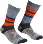 Ortovox Herren All Mountain Mid Warm Socken (Größe 45, 46, 47, Blau)