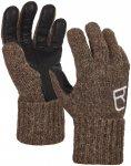 Ortovox Sw Classic Leather Handschuhe (Größe XS, Braun)