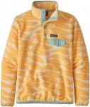 Patagonia Damen Synchilla Snap-T Pullover (Größe L, Gelb)