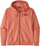 Patagonia Herren Fitz Roy Scope Full-Zip Hoodie (Größe L, Orange)
