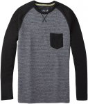 Smartwool Herren Merino 250 Pocket Pullover (Größe S, Grau) | Pullover > Herre
