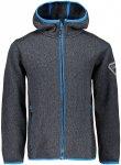 CMP Kinder Boys Fix Knit Tech Jacke (Größe 116, Grau)