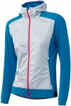 Löffler Damen Light Hybrid Hooded Jacke (Größe L, Blau)