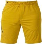 Mountain Equipment Herren Comici Trail Shorts (Größe XL, Gelb)