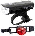 Cateye GVolt 20RC HL350GRC + Loop2G SL-LD140GRC Beleuchtungskit