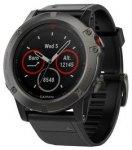 Garmin fēnix® 5X Saphir Grau - GPS Multisport Smartwatch