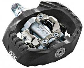 Shimano DX PD-M647 Pedale SPD schwarz 2014 schwarz Fahrradteile Pedale MTB Klickpedale