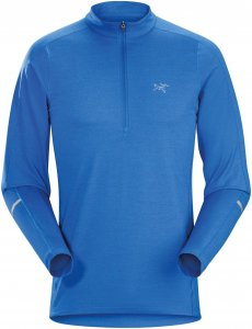 Arcteryx M Cormac Zip Neck Long-Sleeve | Herren Langarm-Shirt