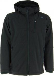 CMP M Jacket Zip Hood Softshell Comfort FIT Long | Herren Freizeitjacke