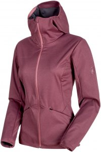Mammut W Ultimate V Tour SO Hooded Jacket | Damen Freizeitjacke