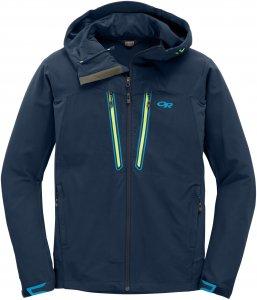 Outdoor Research M Ferrosi Summit Hooded Jacket, Night | Größe S,M,L,XL | Herren Freizeitjacke