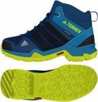 adidas Kids Terrex Ax2r Mid Climaproof Blau, Freizeitschuh, 39 1/3