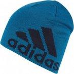 adidas Knit Logo Beanie Blau, XS,Mütze ▶ %SALE 45%