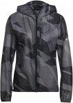 adidas Terrex Agravic Rain Jacket W Grau Windbreaker
