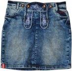 Almgwand W Jochspitze Blau | Größe 40 | Damen Röcke