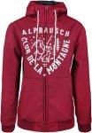 Alprausch W Lina Hooded Softshell Jacket Rot | Größe XS | Damen Softshelljacke