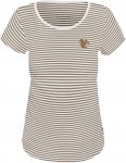 Alprausch W Nüssli-Stibiizer T-Shirt Gestreift / Grau / Weiß   Größe XL   Da