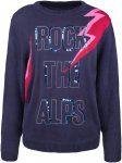 Alprausch W Rock Klara Knitted Sweater Blau | Damen Freizeitpullover