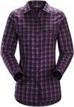 Arcteryx W Addison Long-Sleeve Shirt, Mandala Kingfisher | Damen Langarm-Hemd