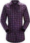 Arcteryx W Addison LS Shirt Damen | Blau / Lila/Violett | S | +S,M,L