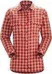 Arcteryx W Addison LS Shirt Damen | Weiß / Orange | L | +M,L