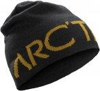 Arcteryx Word Head Toque Schwarz | Größe One Size |  Kopfbedeckung